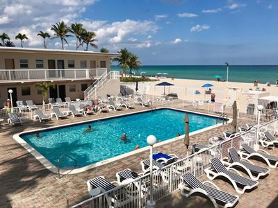 Photo for Oceanfront Studio in Relaxing Sunny Isles - Free WIFI & Parking!