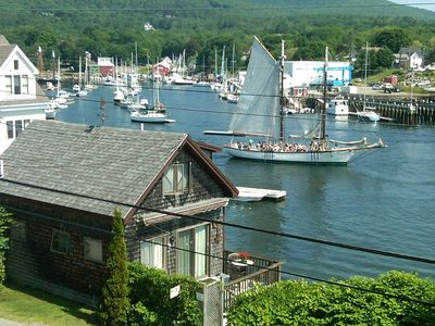Photo for 'The Shop' With Views of Camden Harbor like none other.  Directly on the ledges