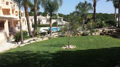 Photo for Luxury Raised Ground Flr.Apartment,1km to Stunning Beaches of Vale do Lobo Wi-Fi