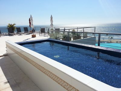 Your private dipping pool on your private 2700 sq ft terrace