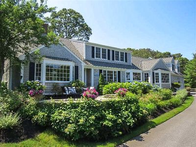 Photo for This home overlooks Crows Pond which is a beautiful saltwater inlet providing deep water access to Pleasant Bay, Chatham Harbor and the Atlantic Ocean. 5 bedroom, 3.5 bathroom with deeded rights to a private association beach  just steps away from your front door