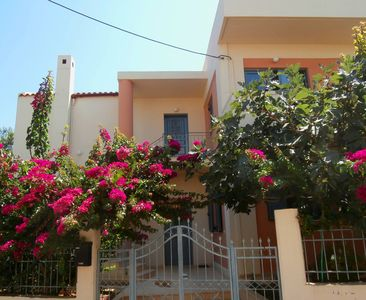 Photo for Glaros Home - Large garden, balconies, close to the beach, seaview