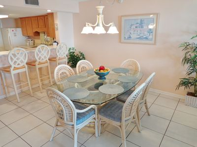 """Photo for """"Breakers East 205""""~Spacious 2BR/2BA Gulf Front Condo~Heated Pool!"""