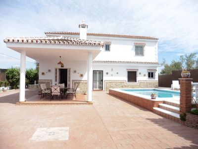 Photo for COUNTRY HOUSE WITH PRIVATE POOL, BBQ 25-30 MINUTES FROM MARBELLA