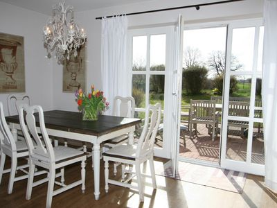 Photo for Exclusive beach house with sauna and fireplace, Wi-Fi, quiet south garden