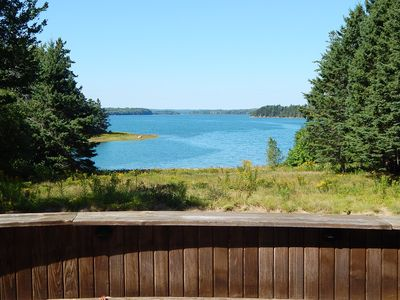 Photo for Come visit Maine in the summer!  Private retreat, oceanfront, Acadia, sleeps 12