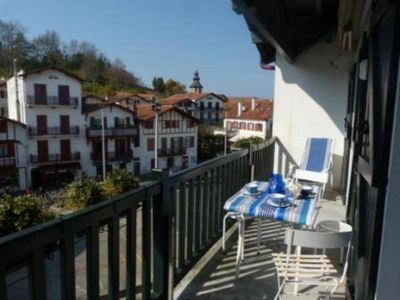 Photo for Charming duplex apartment, perfect for families (6 to 8 guests) in Ciboure-Saint Jean de Luz , France.