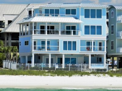 Photo for Brand New Luxury Beachfront 5BR Home with Private Heated Pool, Elevator, Wi-Fi