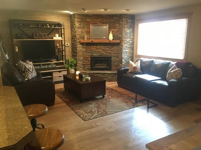 Photo for Newly Renovated East Vail Top Floor 2bd/1ba Condo Steps from Free Vail Shuttle