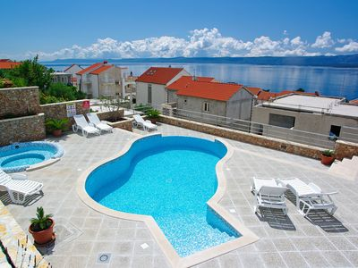 Photo for 1BR for 4✶sea view✶swimming pool✶parking