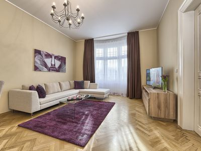 Photo for Spacious Three-Bedroom Apartment in the City Centre - Maiselova
