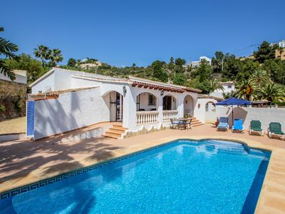 Photo for Colina - holiday home with private swimming pool in Moraira