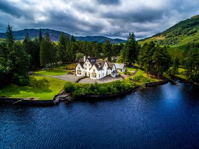 Photo for Lochside House, Loch Katrine, in Loch Lomond and Trossachs National Park