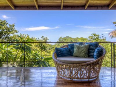 Photo for Open Air Jungle Home with Ocean View Pool!
