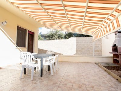 Photo for Villa with garden, close to the Baia di Torre Lapillo beach
