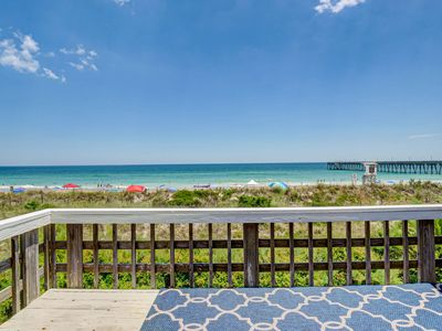 Photo for Laing - Large Oceanfront beach house with 2 kitchens and living rooms