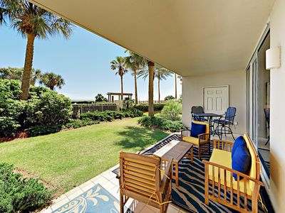 Photo for Ground-Floor 2BR Condo at the Beach Club - Multiple Pools, Resort Amenities