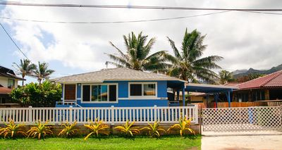 Photo for Beachside Blue - Fully furnished and newly renovated, close to the beach, with AC