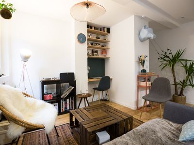 Photo for Superb apartment in the heart of the Batignolles
