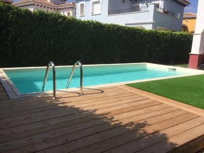 Photo for Villa with lovely pool!