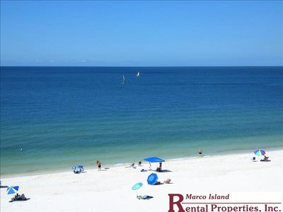 Photo for Sea Winds 603; New KING BED! 2 Bedroom Beach Front condo!