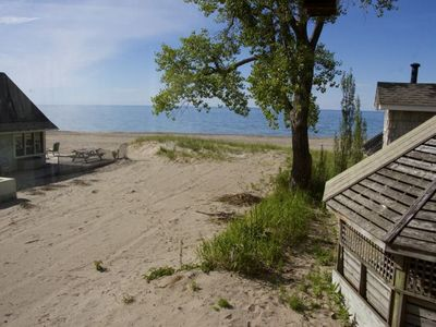 Photo for Cute Sandy Beachfront Cottage in Sodus Point!