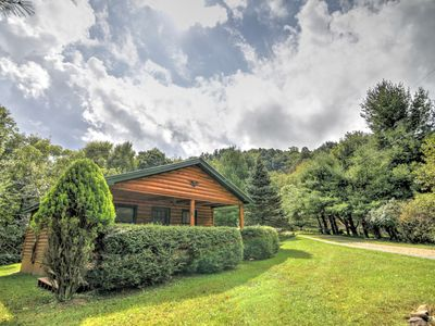 Photo for Cozy 1BR 1BA Cottage In Valle Crucis, Hot Tub, Fireplace, Queen Bed, Close To Watauga River