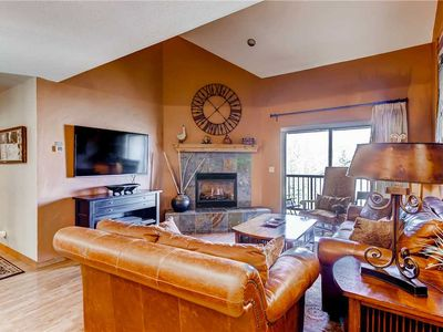 Photo for 3 Bedroom + Loft Mountain Condo w/Heated Pool, Tennis Court & Hot Tubs!