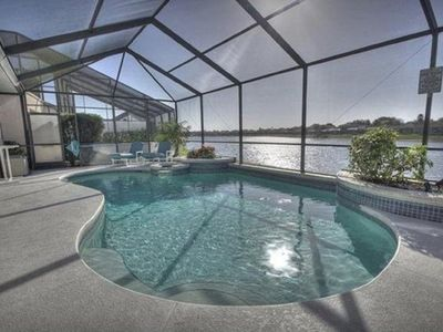 Photo for Gorgeous Lake View South facing Pool! Separate Hot Tub and Game Room!