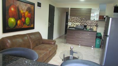 Photo for Two Bedroom Hot Tub AC Wifi Flat screen Two Bedroom LLeras Area on Calle 9