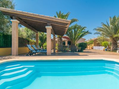 Photo for LA CASITA - Villa with private pool in Cala Santanyi.