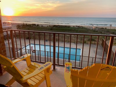 Photo for Surfside 84 8 - Oceanfront with Pool (84th St)!