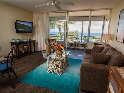 Photo for Panoramic Ocean View Apartment in Maui. Designer Decorated- Upscale