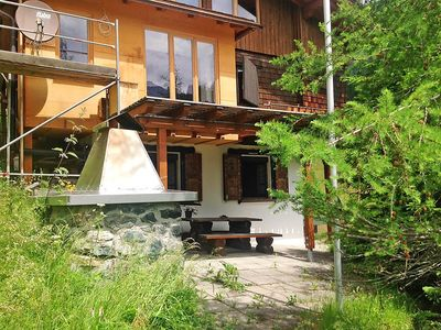 Photo for Apartment in the center of Langwies with Parking, Internet, Garden (52533)