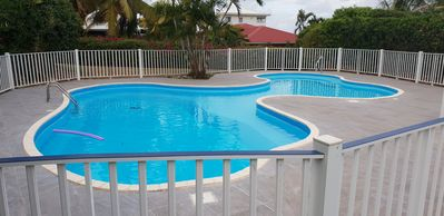 Photo for Guadeloupe-Secure residence-30m ²-pool-500m beach grapes clear