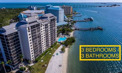 Photo for Waterfront 3Bedrooms/3Bathrooms Fully Renovated Condo at  Sanibel Harbour