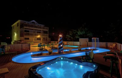 Photo for Private lazy river, regular&kiddie pool. Oceanfront, Elevator