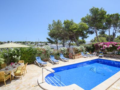 Photo for Can Veler - Beautiful Villa with an Ideal Location and Impressive Views towards the Marina! - Free WiFi