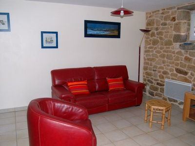 Photo for Beautiful house overlooking the ocean and the Beach near Carnac