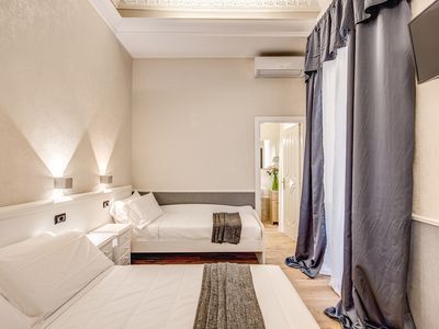 Photo for TRIPLE ROOM 302 AT THE B & B SUITE ROME VENETO