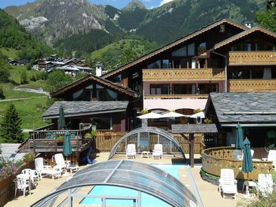 Photo for Attractive residence with swimming pool and sauna in Champagny-en-Vanoise