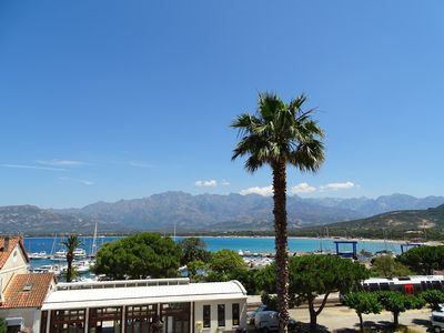 Photo for T2 hypercentre of Calvi with sea and mountains view