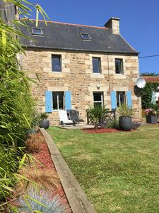Photo for Renovated house, seaside on the port of Ploumanac'h - Perros-Guirec