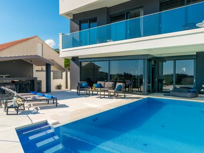 Photo for Exclusive Villa MATIVE |  luxury four-bedr. heated Pool