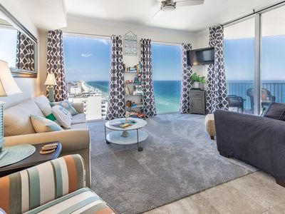 Photo for ☀Tidewater 2718-1BR+Bunks☀Beach Front Updated! WOW! Oct 18 to 20 $495 Total!