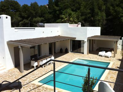 Photo for Modern villa in Ibiza style in a quiet area with private swimming pool and lots of privacy.