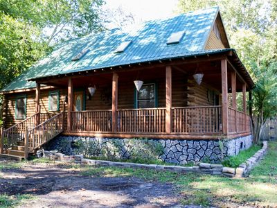 Photo for Southern Charmed Cozy Log Cabin
