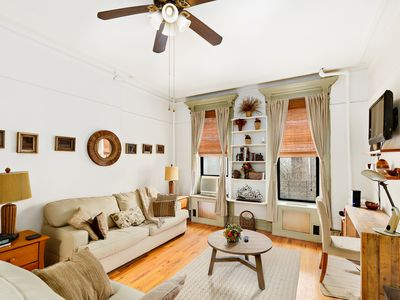 Photo for Charming Renovated Studio Apt - Manhattan Townhouse with Washer/dryer