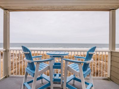 Photo for Dont Settle for anything Less than this Ocean Front 2 Bedroom and Den