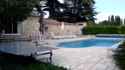 Photo for house in the heart of Provence in the countryside holiday at solei